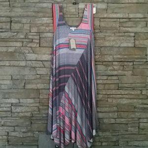 NWT ANTHROPOLOGIE WESTON ZIG ZAG DRESS XS
